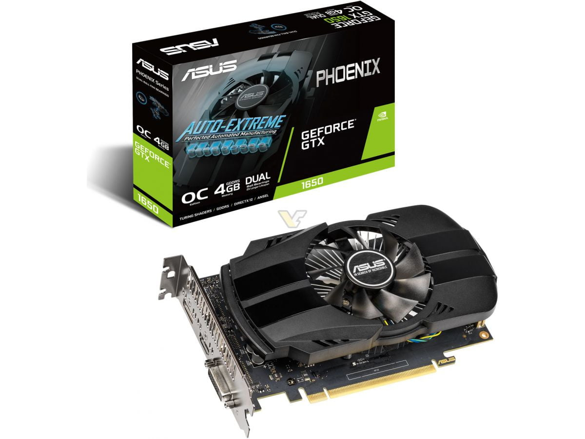 کارت گرافیک ASUS Phoenix GeForce GTX 1650