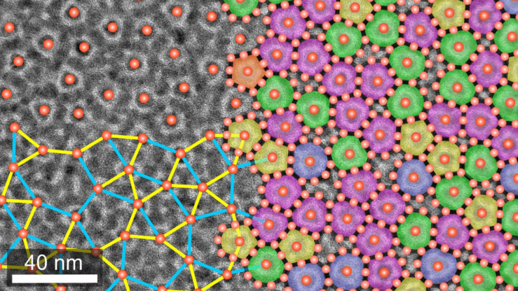 Chemists create new quasicrystal material from nanoparticle building blocks | Brown University