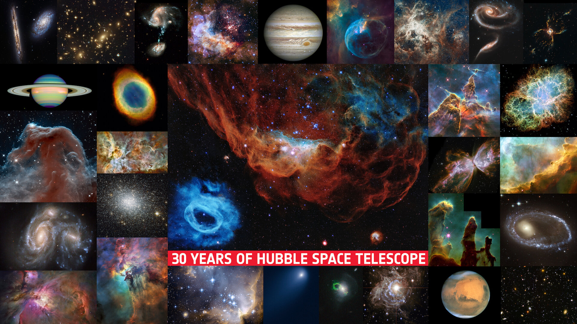 ESA - Thirty years of Hubble Space Telescope